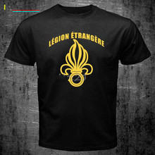 French Foreign Legion Special Forces World War Army T Shirt Mens  Short Sleeve O-neck Shirts Cool Male Streetwear