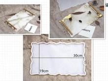 Molde de silicone para resina placa de chá copo almofada gota cola diy argila cola epóxi uv resina moldes para decoração casa artesanato arte suprimentos