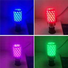 Led bulb E14 E27 12W 16W LED Candle Light 220V LED bulb lamp Purple/Yellow/Red/Blue/Green/Warm White /Cool/White Led Corn Light
