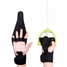 Finger Splint Brace ability, Finger Gloves Brace Elderly Fist Stroke Hemiplegia Hand Training [Single Hand] - Black все цены