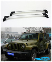 Stainless steel Car Roof Racks Luggage Rack Crossbar Fits For JEEP Wrangler 2004 2005 2006 2007 2008 2009 2011 2012 2013 2014