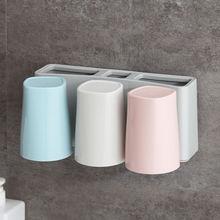 Настенный Зубная щётка туалетные принадлежности паста держатель