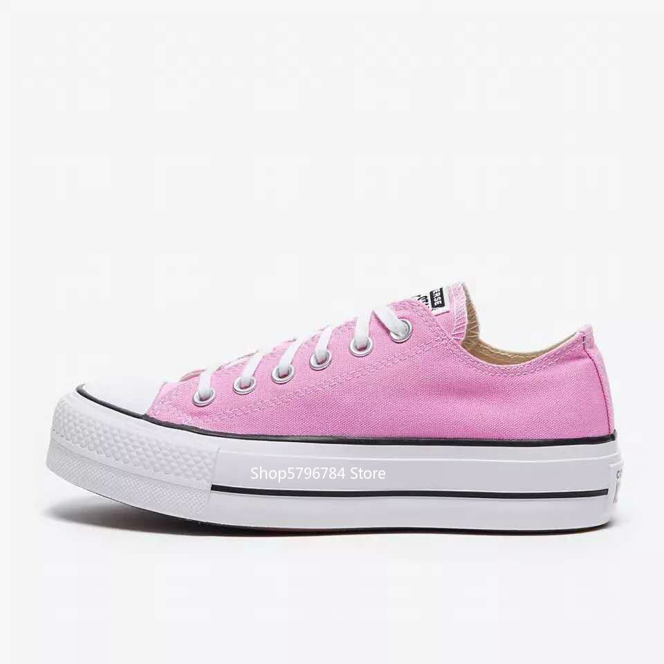 Converse all star/классические женские низкие кроссовки; Повседневная спортивная парусиновая обувь; Обувь converse|Катание на скейтборде|   | АлиЭкспресс