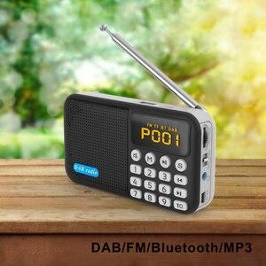 Image 5 - רכב דיגיטלי DAB רדיו נייד סטריאו רמקול מיני אלחוטי BT MP3 נגן FM רדיו