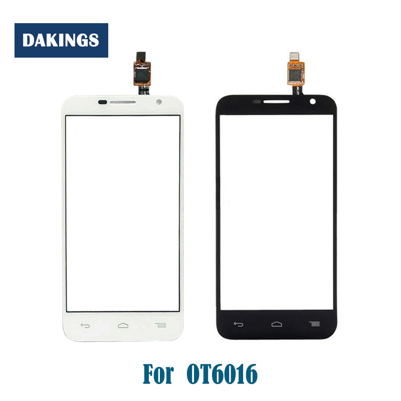 Touch Screen <font><b>for</b></font> <font><b>Alcatel</b></font> One Touch Idol 2 mini 6016 <font><b>6016D</b></font> 6016A 6016E 6016X OT6016 Digitizer Touch Panel Front Glass Lens Sensor image
