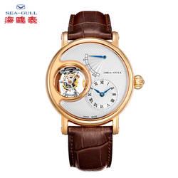 Часы с чайкой, мужские механические часы с турбийоном, Мужские автоматические часы, Топ бренд, роскошные прозрачные механические часы с