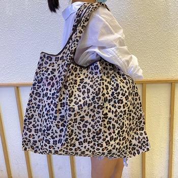 Heavy Bulk Foldable Shopping Bags Reusable Women's Handbags Shoulder Bags Grocery Bags Large 50 Pound Storage Bags 1