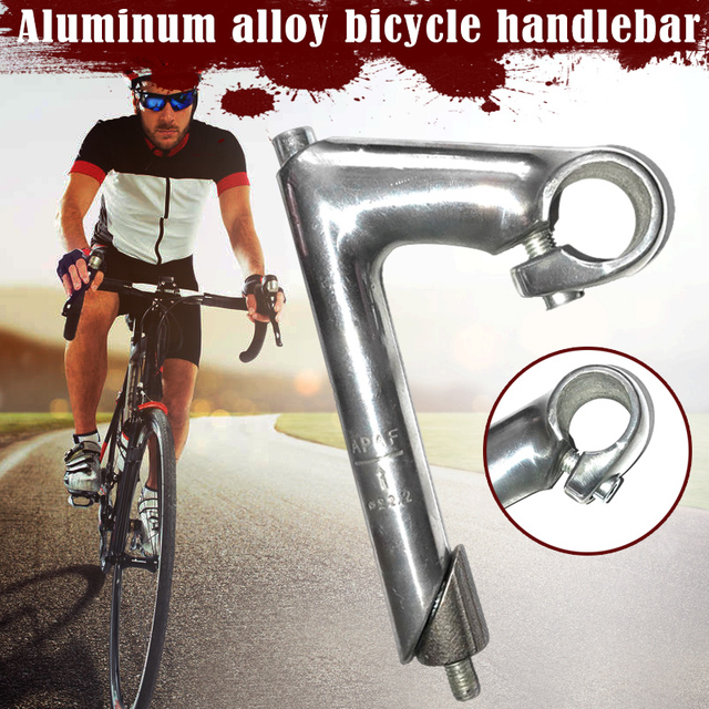 Classique vélo Quill col doie tige pour guidon en alliage daluminium rétro vélo guidon Riser 25.4 route vélo accessoires HB88