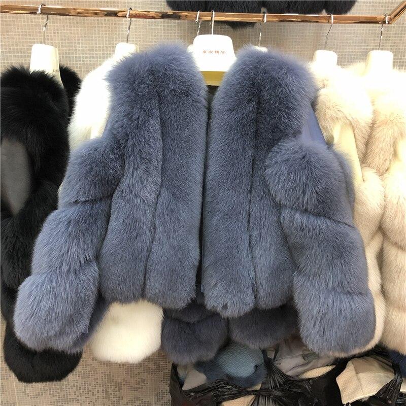 ZDFURS* New Arrival Women Winter Thick Fur Coat Real Fox Fur Vest High Quality Fox Waistcoat Fur Gilet