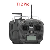 Jumper T12 Pro Open Source 16ch Radio JP4 in 1 Multi protocol 2.4inch LCD RF Module Wi/ HALL Gimbal OpenTX for RC Drone