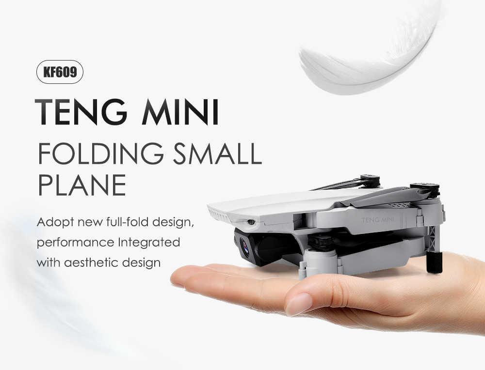 KF609 rcドローンとカメラ 4 18k selfieフォローミーミニquadcopter dron fpvドローンリモートコントロールヘリコプターquadrocopterおもちゃギフト