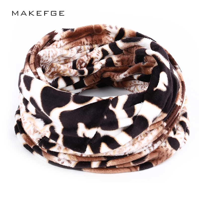 2019 New Ladies Leopard Scarf Winter Warm Scarf Velvet Thickening A Variety Of Styles High Quality Cotton Silk Ladies Bib