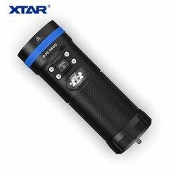 Xtar D36 5800lm OLED Bildschirm XHP35 HALLO D4 & XHP 70,2 LEDs Leistungsstarke Wiederaufladbare Tauchen Laterne Unterwasser Taschenlampe mit 18650 batterie