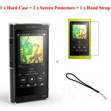Прозрачный кристально прозрачный жесткий чехол-накладка Running Camel Для Sony Walkman NW-A50 A55 A56 A57 A55HN A56HN A57HN