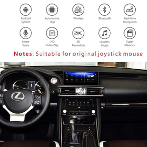 Image 2 - Smart Android GPS for Leuxs IS 200 IS300 IS250 IS350 350H 300H 2013 2018 Car bluetooth head unit multimedia Premium Navigation