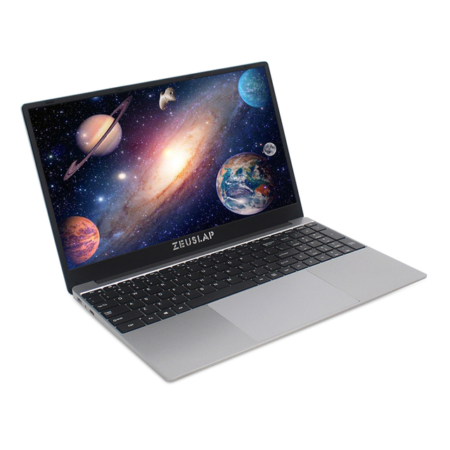 ZEUSLAP 15.6 Inch Intel Quad Core 8GB RAM 64GB 128GB 512GB 1TB SSD Notebook Windows 10 pro 1920X1080P Netbook Laptop 6