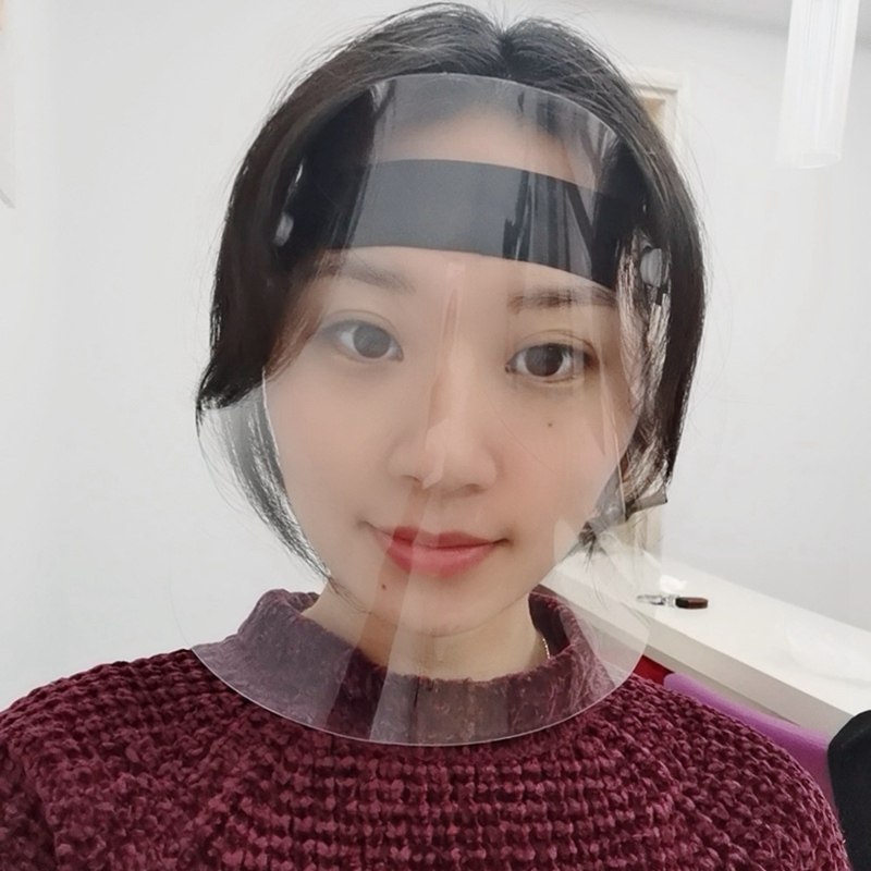 Прозрачные пластиковые защитные экраны для защиты глаз