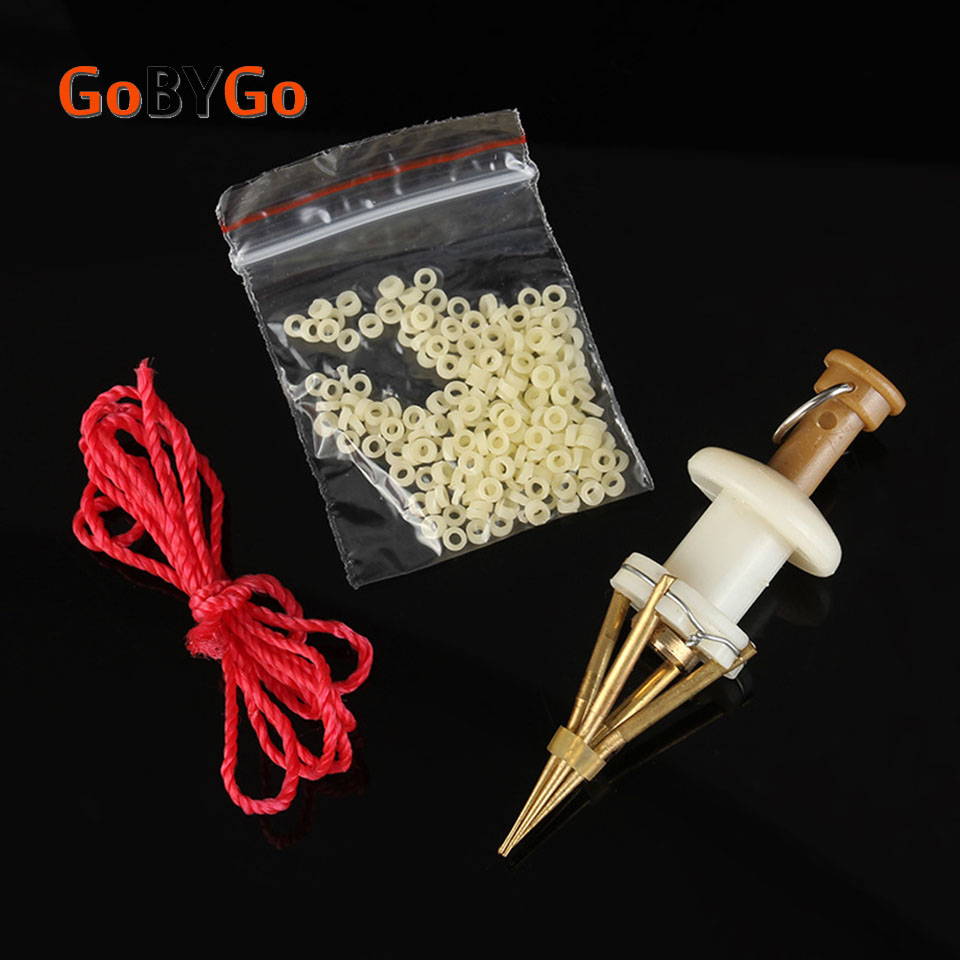 GoByGo 1Pcs Portable Fishing Baits Lightweight Clip Fishing Lures Professional Earthworm Bloodworm Clip Fishing Tackle Accessory