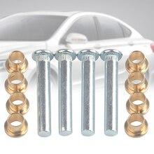 Pickup Car Accessories Tools 97-05 High Strength Metal Repair Door Hinge Pin Set Portable Bushing For Nissan Navarra D22