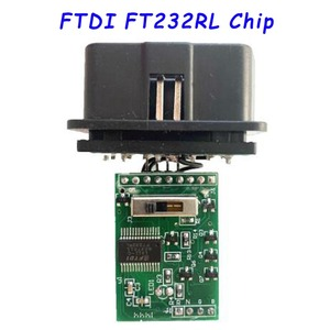 Image 4 - Chip FTDI FT232RL FT232RQ for Fiat KKL OBD2 Auto Car Diagnostic Cable for VAG Car Ecu Scanner Tool 4 Way Switch USB Interfac