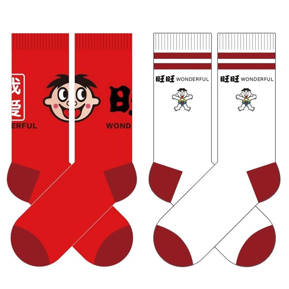 Womens autumn winter cartoon cotton socks Harajuku cute funny anime print happy casual fashion Christmas crew