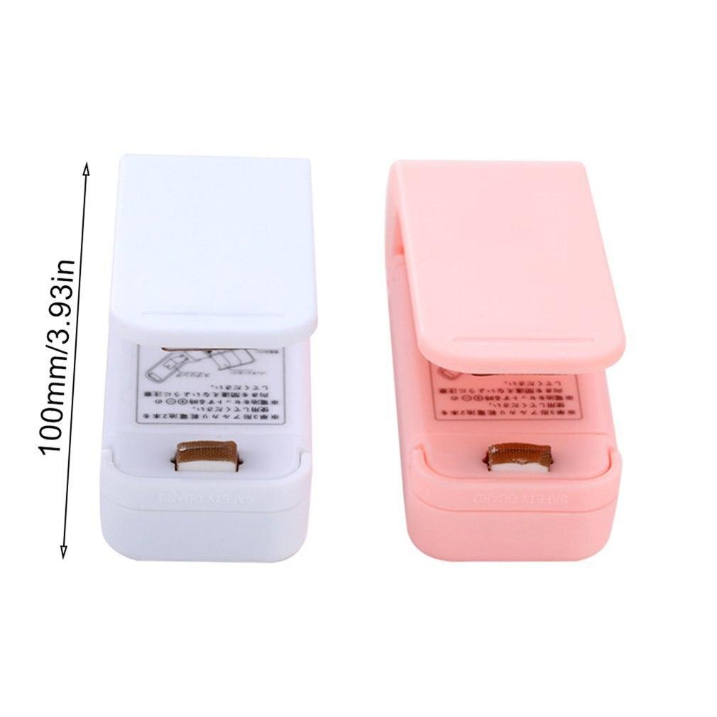 Hogar portátil Mini máquina de sellado de calor handheld vacío impulso sellador sello de embalaje plástico sellador del paquete