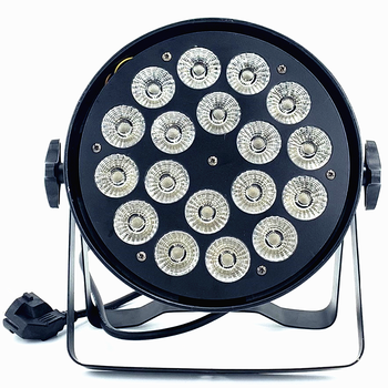 18x12W RGBW 18x18W RGBWA UV  Led Par Light DMX wash Stage Lights Business Lights Professional Flat Par Can for Party KTV Disco