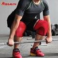 2018 fabrik Werbe Gym 7mm CrossFit Weiche Neopren Kompression Gewichtheben Knie Unterstützung Hülse  Frauen & Männer  paar Durch ROEGADYN-in Ellenbogen & Knie-Pads aus Sport und Unterhaltung bei