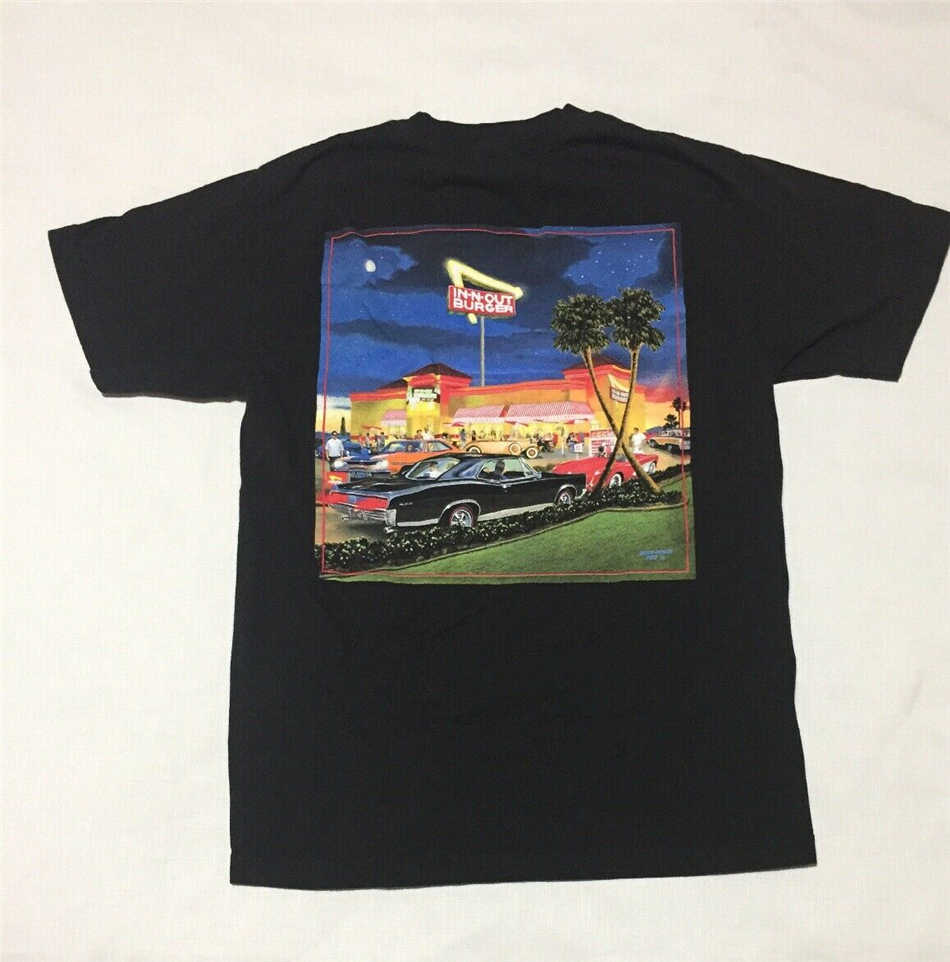 In-N-Out Burger Las Vegas Mike Rider Nero Musclw Auto T-Shirt Adulto Medio Magliette E Camicette Nuovo Unisex Divertente tee Shirt