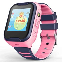 С камерой LEMFO, детские часы, 4G, Детские Смарт-часы с GPS, сенсорным экраном, SOS, SIM, телефонные звонки, водонепроницаемые детские часы