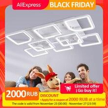 IRALAN LEDs люстра для дома современный блеск для гостиной спальни kitchern домашняя люстра белая модель освещения 0126
