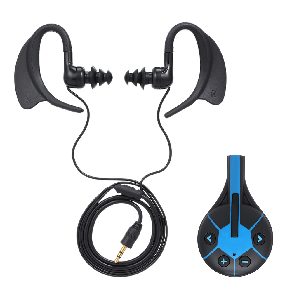 LFA267 8GB MP3 Music Player IPX8 Waterproof With High-fidelity Sound Earphone Clip Design For Swimming Running Diving MP3 Player
