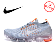Original Nike Air AIR VAPORMAX FLYKNIT 3 Men's Running Shoes Mesh Light Outdoor