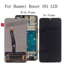 AAA yüksek kalite LCD Huawei onur için 10i HRY LX1T LCD ekran dokunmatik ekran meclisi aksesuarları onur 10i LCD tamir kiti