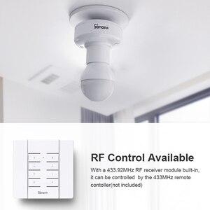 Image 5 - 2/3/4/5pcs SONOFF Slampher R2 Itead 433MHz RF Smart WiFi Light Holder E27 Bulb Holder Interruptor Wifi Switch for Smart Home