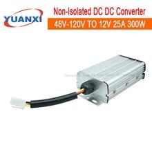 300W dc dc Converter 48V 60V 72V 84V 96V 108V 120V TO 12V 13.8V 25A 300W Non-isolated step down dc converter