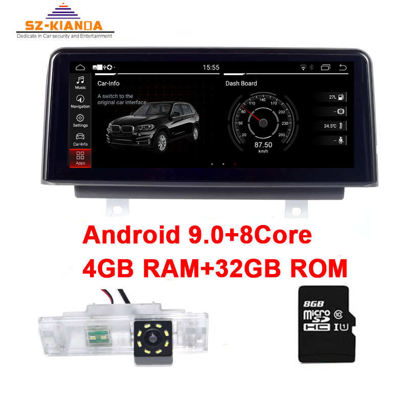 """10.25"""" IPS 8 Core Android 9.0 CAR DVD radio player for BMW 1 series F20 F21 F22 2013-2017 NBT car Multimedia GPS Navigation nbt(China)"""