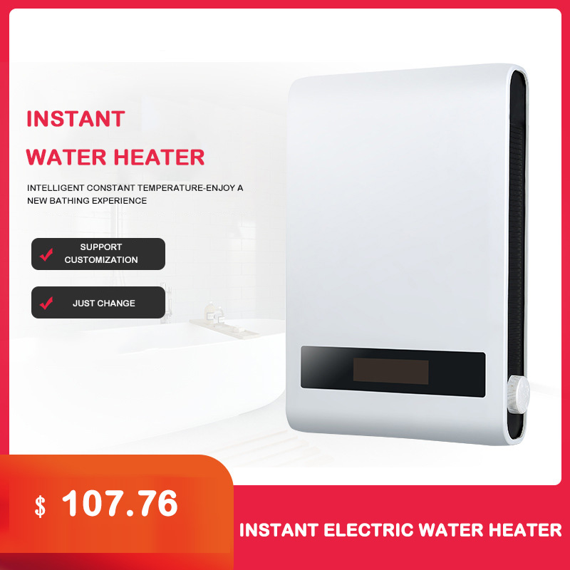 Integrated Instant Small Electric Water Heater Wall-mounted Intelligent Constant Temperature Speed Heater 7000W Water Heater