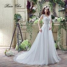 V Neck Luxury vestido de noiva A Line Lace Bridal Gown Lace Wedding Dress все цены