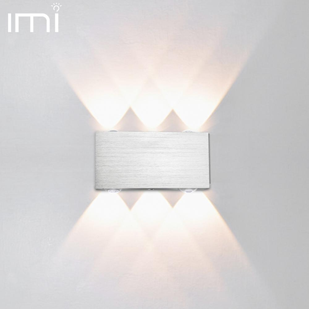 Modern Sconce Led Wall Lamp Stair Light Fixture Bedroom Bed Bedside Lighting Living Room Home Hallway Loft Indoor Stair Lampada