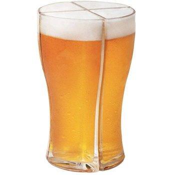 4-in-1 kreatywny kufel do piwa akrylowe równowagi kubek dozownik do wina śmieszne szklany kufel do piwa kufel do piwa wytrzymały kufel do piwa dla strona główna tanie i dobre opinie CN (pochodzenie) ROUND Szkło Szklanki na piwo Na stanie Ekologiczne 4-in-1 Creative Beer Mug