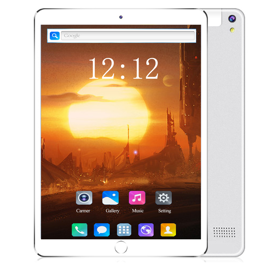 Google Certification 10.1 Inch 128GB ROM 6GB Ram 10 Core Android 8.0 Tablets 4G LTE Phone IPS Wifi Bluetooth GPS Kids Tablet Pc