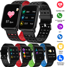 New Smart Watch BINSSAW T6 Men Women Heart Rate Monitor Blood Pressure Fitness Tracker Smartwatch Sport Watch for ios android