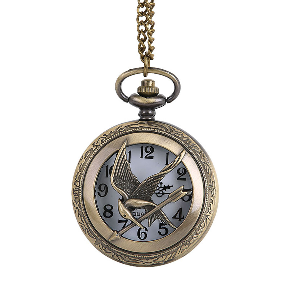Vintage Chain Retro The Greatest Pocket Watch Necklace For Grandpa Dad Gifts Watch Clock Wholesale Relogio De Bolso #4O15
