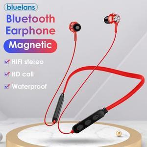 G03 Беспроводные Bluetooth магнитные адсорбционные стерео наушники с шейным ремешком, водонепроницаемые беспроводные наушники для спортивных игр
