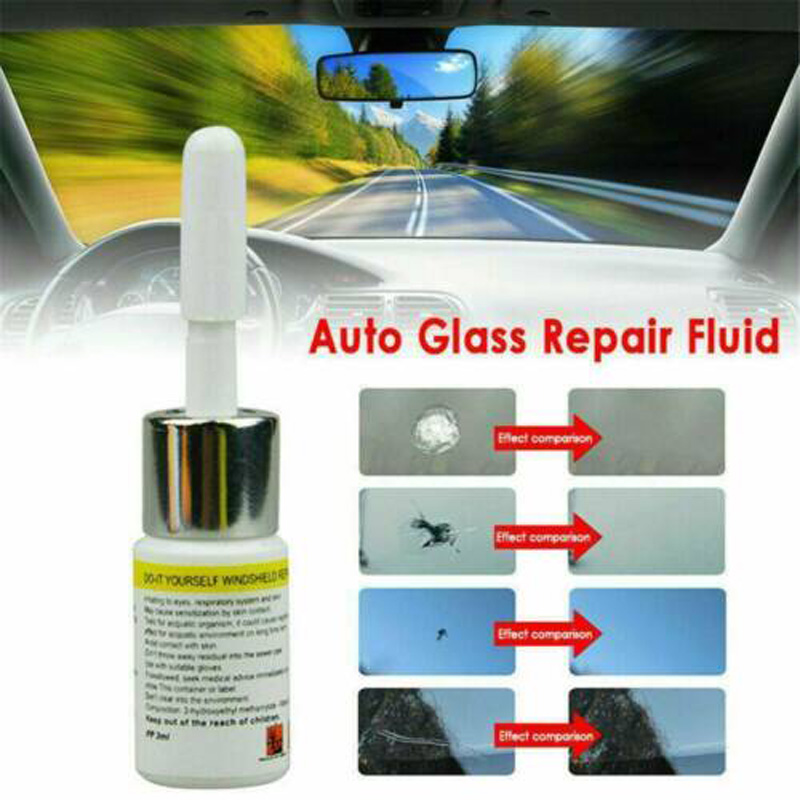 2020 New  Automotive Glass Nano Repair Fluid Car Window Glass Crack Chip Repair Tool Kit  Brand New And High Quality