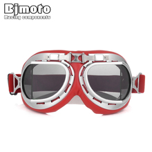 2019 Motorcycle Goggles Glasses Adjustable UV Protection Motorbike Scooter Windproof  for Riding Pit Bike