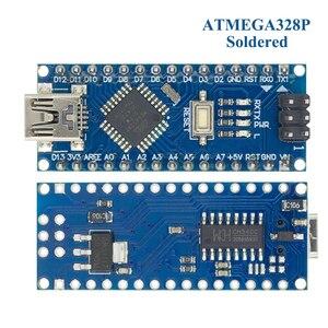 Image 5 - 10PCS 미니 USB/마이크로 USB 나노 3.0 ATMEGA328P/ATMEGA168P ardunio 컨트롤러 호환 나노 CH340 USB 드라이버