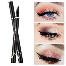 Black Eyeliner Liquid Waterproof Smudge-proof Long-lasting Quick Drying Eye Liner Eyes Beauty Makeup