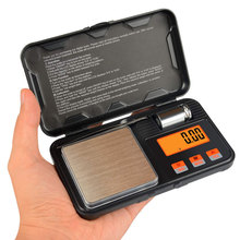 Newest 200g / 0.01g Digital Pocket Scale 50g Calibration Weight with Tweezers Battery Include